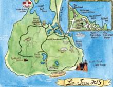 Liz & Jesse Wedding Map
