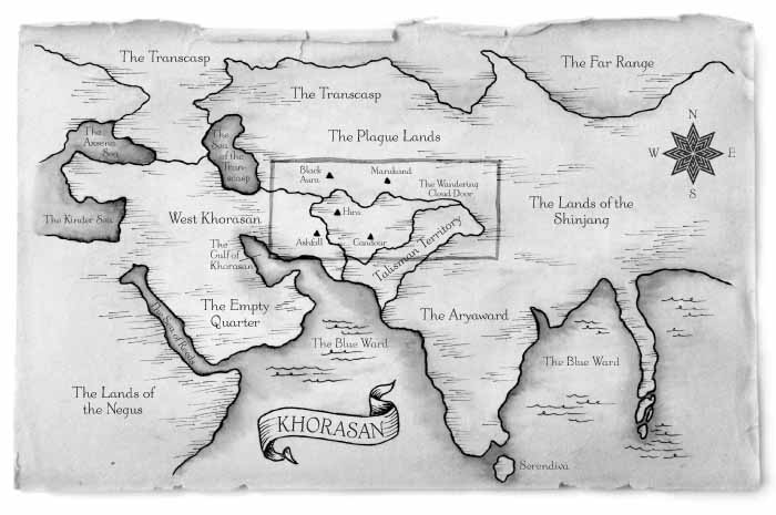 The Bloodprint map — Harper Collins